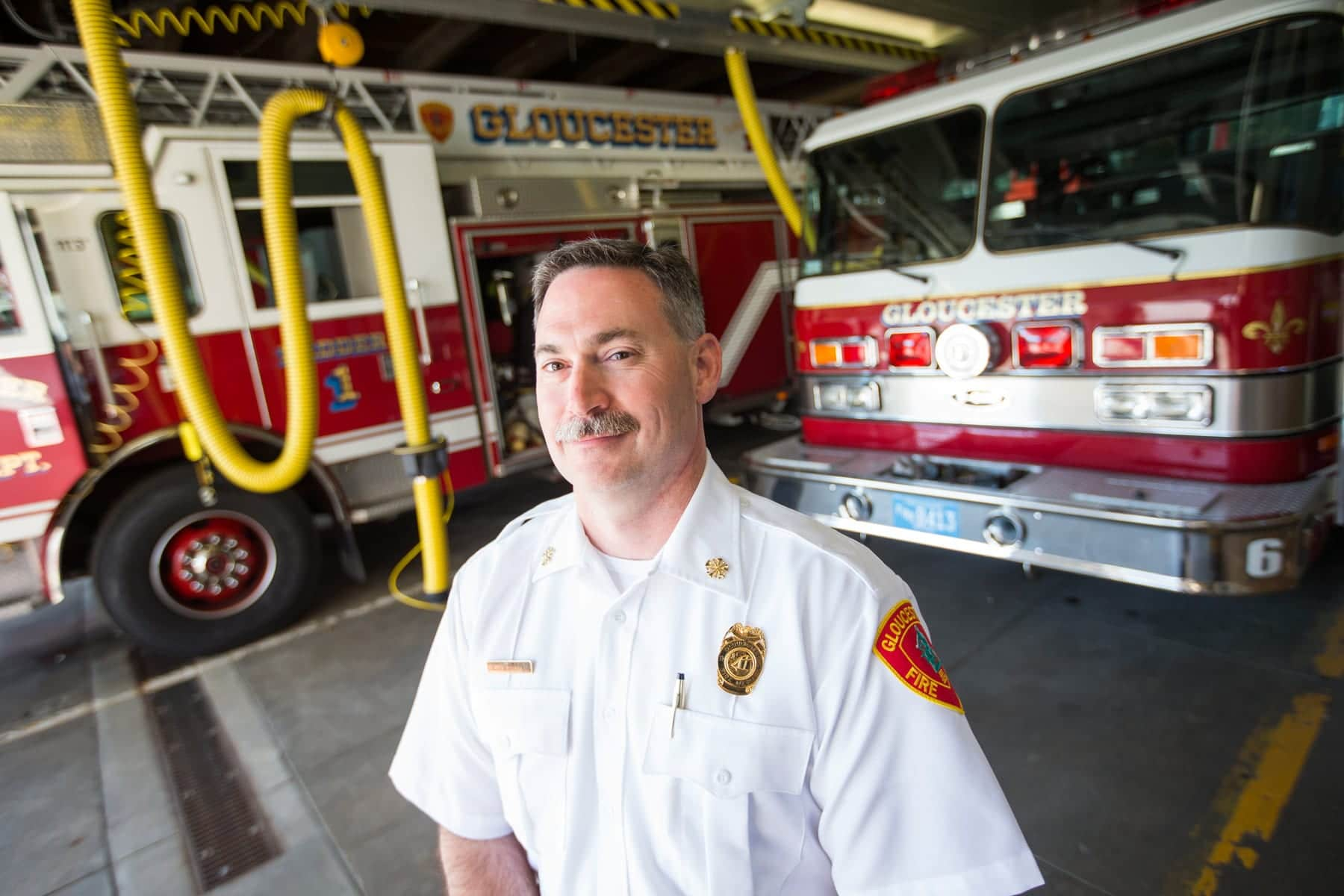 Gloucester Fire Chief Eric Smith